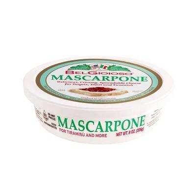 Belgioioso Mascarpone Italian Sweet Cream Cheese - 8oz