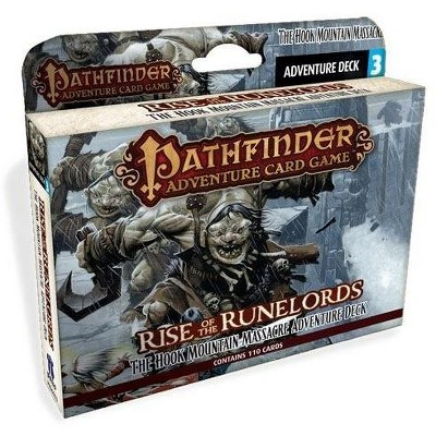 Rise of the Runelords #3 - The Hook Mountain Massacre Adventure Deck (1st Printing) Box Set