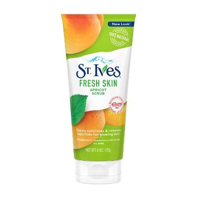 St. Ives Fresh Skin Face Scrub Apricot 6 oz
