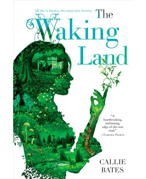 Waking Land -  Reprint by Callie Bates (Paperback) - image 1 of 1