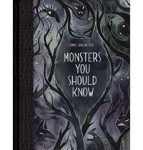 Monsters You Should Know -  by Emma Sancartier (Hardcover) - image 1 of 1