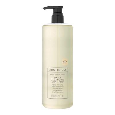 Kristin Ess Fragrance Free Daily Cleansing Shampoo - 33.8 fl oz