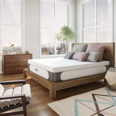 "Laine Cooling 14"" Gel Memory Foam Mattress with Bonus Pillow - Jubilee Mattress"