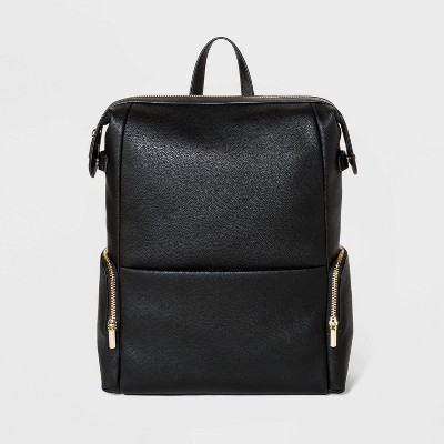 Zip Closure Backpack - A New Day™ Black