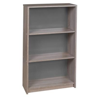 """42"""" Central 3 Shelf Bookcase - Niche"""