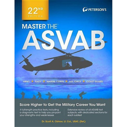 Master the ASVAB - 22 Edition by  Scott A Ostrow (Paperback) - image 1 of 1