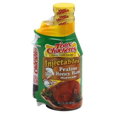 Tony Chachere's Injectable Honey Praline Ham Marinade - 17fl oz