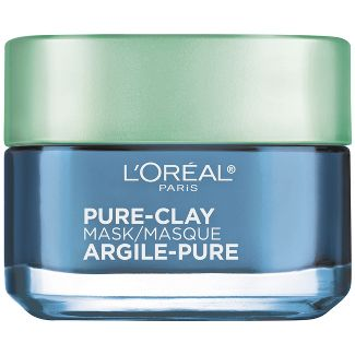 L'Oreal Paris Pure Clay Face Mask - Clear & Comfort - 1.7oz