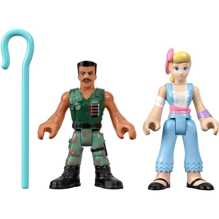 Fisher-Price Imaginext Disney Pixar Toy Story Combat Carl And Bo Peep - image 1 of 3