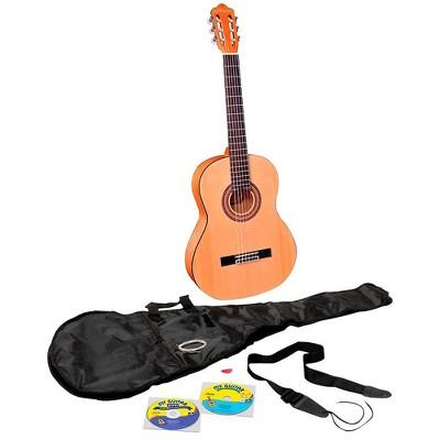 eMedia My Acoustic Guitar Starter Pack Natural 0.5