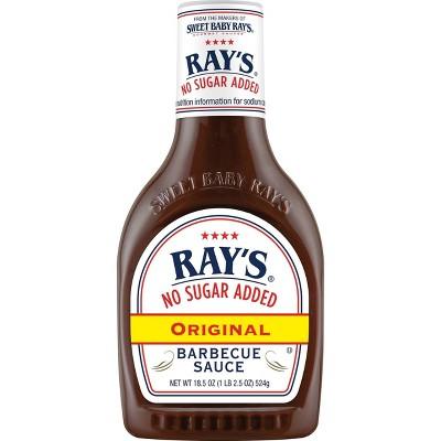 Ray's No Sugar Added Original BBQ Sauce - 18.5oz