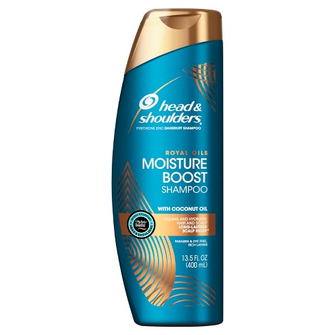 Head & Shoulders Royal Oils Moisture Boost Shampoo with Coconut Oil - 13.5 fl oz - image 1 of 4