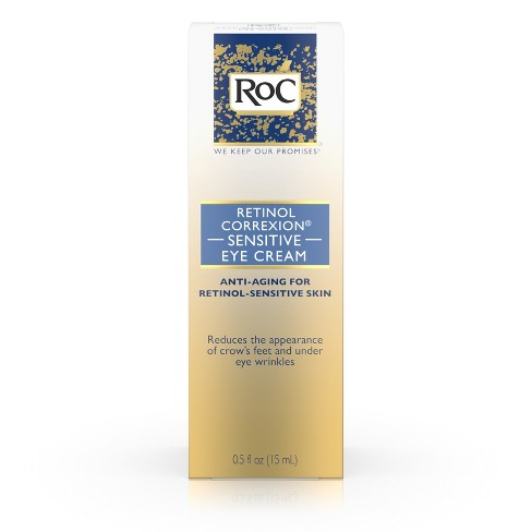 RoC Retinol Correxion Anti-Aging Sensitive Skin Eye Cream - .5 fl oz - image 1 of 9