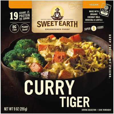 Sweet Earth Natural Foods Frozen Curry Tiger - 9oz