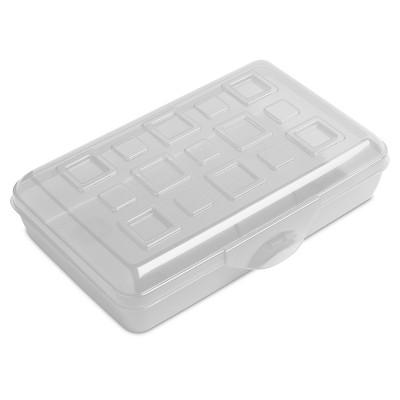 Sterilite Pencil Box - Clear