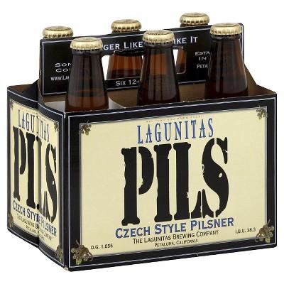 Lagunitas Pils Czech-Style Pilsner Beer - 6pk/12 fl oz Bottles