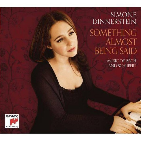Bach - Something Almost Being Said: Music Of Bach And Schubert (CD) - image 1 of 1