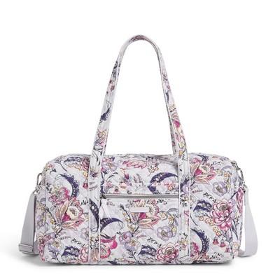 Vera Bradley Women's Cotton Medium Travel Duffel Bag