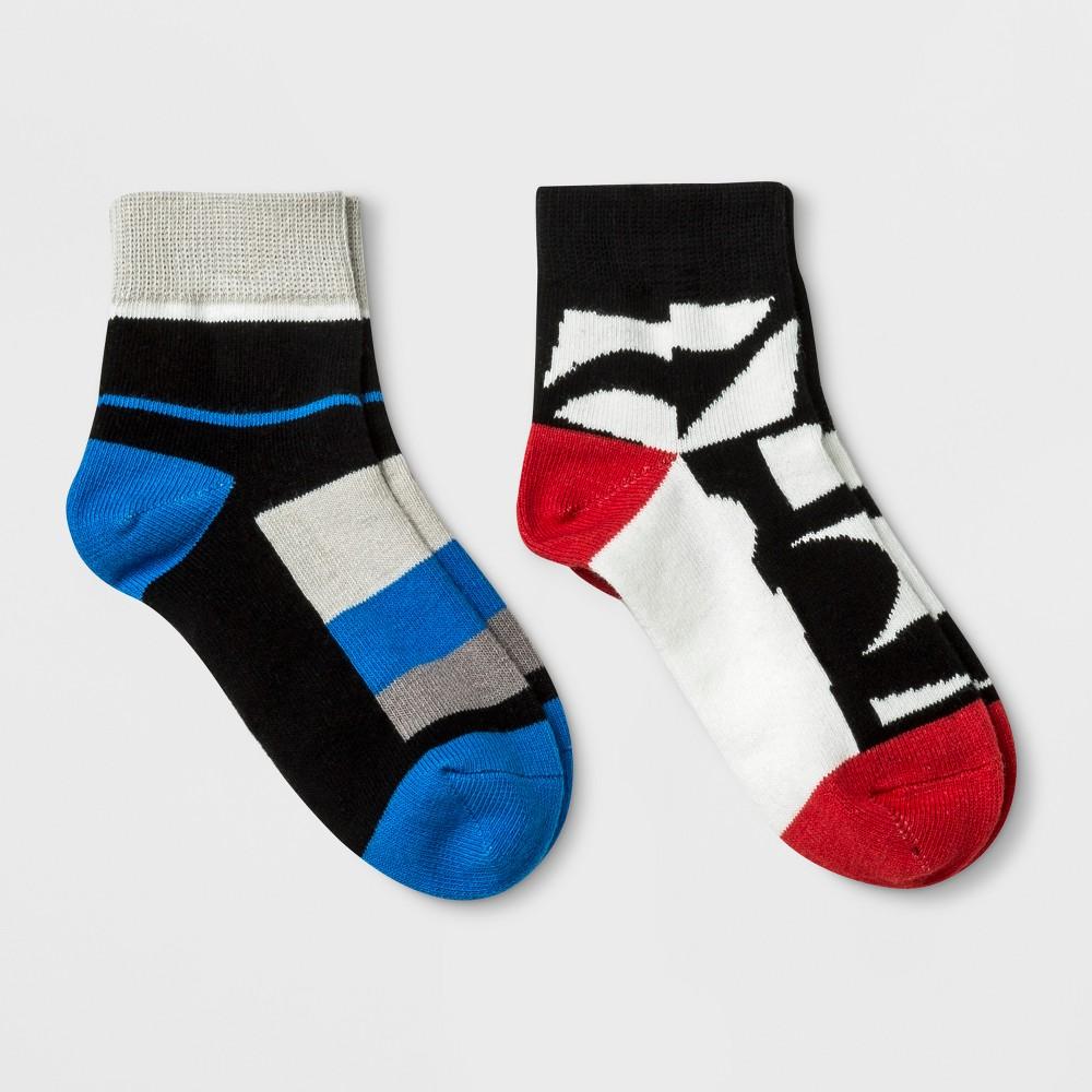 Pair of Thieves Kids' 2pk Ankle Socks - L, Kids Unisex, Multicolored