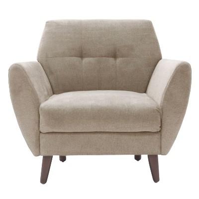 """24"""" Amelie Mid-Century Modern Armchair - Adore Décor"""