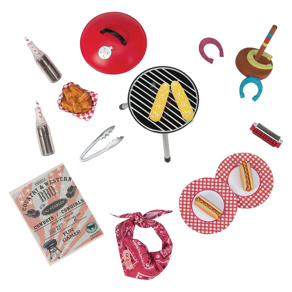 Our Generation Barn Dance & Bbq Accessory Set