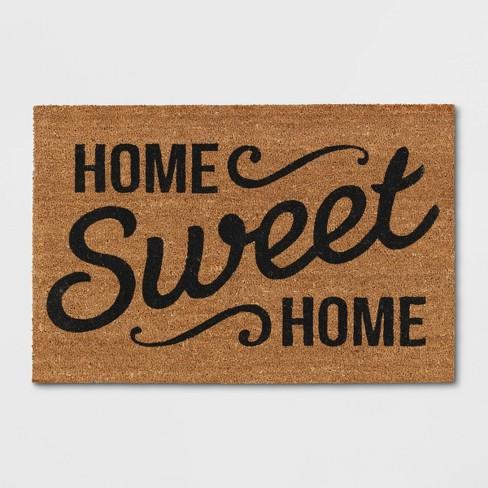 "Doormat Home Sweet Home Estate 23""x35"" - Threshold™ - image 1 of 4"