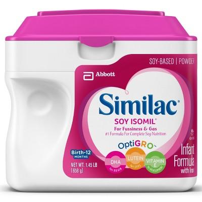 Similac Soy Isomil Infant Formula Powder with Iron - 1.45lb