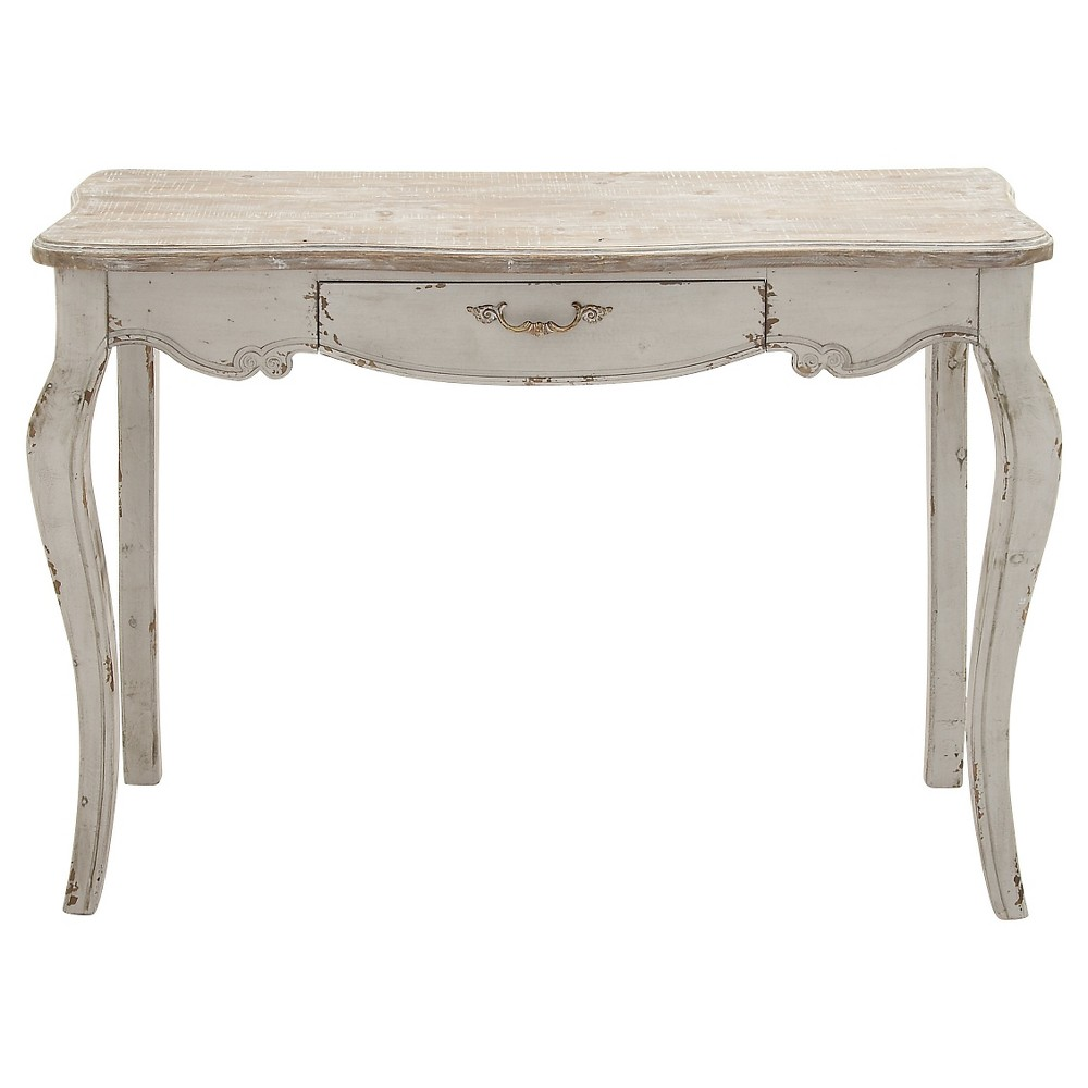 Simple Wooden Console Table Brown - Woodland Imports