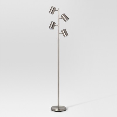 Dean Spotlight Floor Lamp Nickel - Project 62™