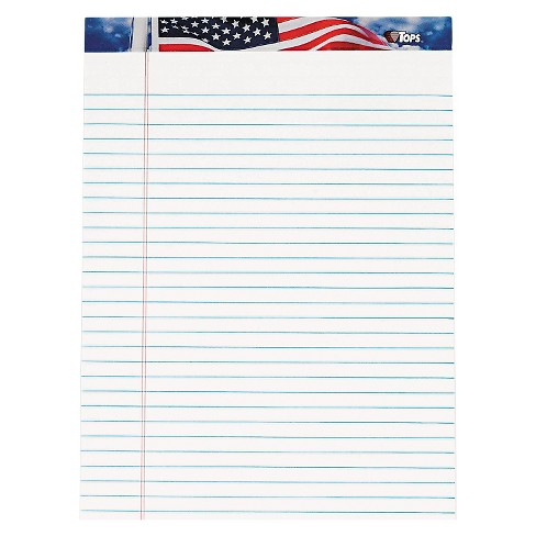 """Tops Legal Pads 8.5"""" x 11.75"""" - White - image 1 of 1"""