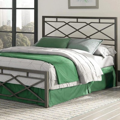 eLuxury Alpine Steel Metal Bed Frame