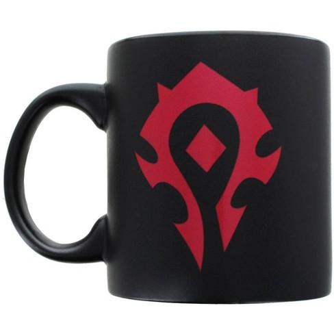 Just Funky Warcraft Horde Logo 20oz Ceramic Coffee Mug - image 1 of 2