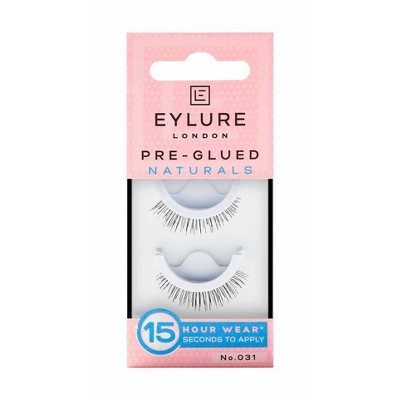 Eylure False Eyelashes Pre-Glued Naturals No. 031 - 1pr