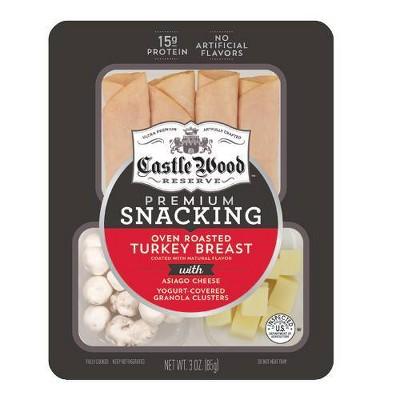 Castle Wood Reserve Oven Roasted Turkey Snack - 3oz
