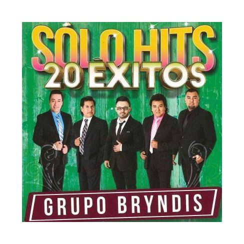 Grupo Bryndis - Solo Hits 20 Exitos (CD) - image 1 of 1