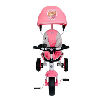 KidsEmbrace Nickelodeon Paw Patrol Skye 4 in 1 Push and Ride Stroller Tricycle