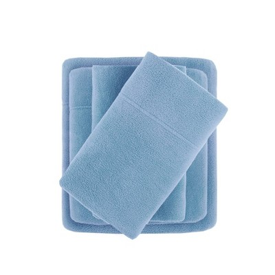 Premier Comfort Microfleece Sheet Set - Blue (Full)