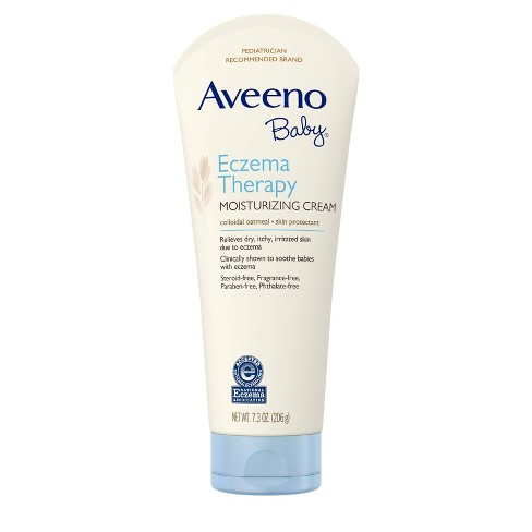 Aveeno Baby Eczema Therapy Moisturizing Cream 7.3 oz - image 1 of 4