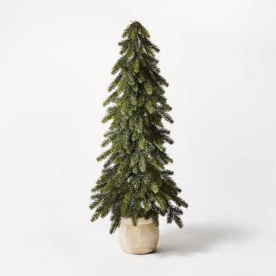 Shop 3ft Artificial Plain Wood Vessel Tree - Threshold designed with Studio McGee from Target on Openhaus