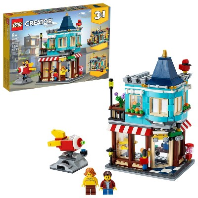 LEGO Creator 3-in-1 Townhouse Toy Store Cool Building Kit 31105