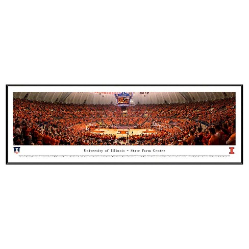 NCAA Blakeway Basketball Arena View Framed Wall Art - Standard Frame - image 1 of 1