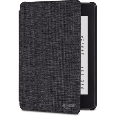 Amazon Kindle Paperwhite Water-Safe Fabric Cover (10th Generation, 2018 Release) - Charcoal Black