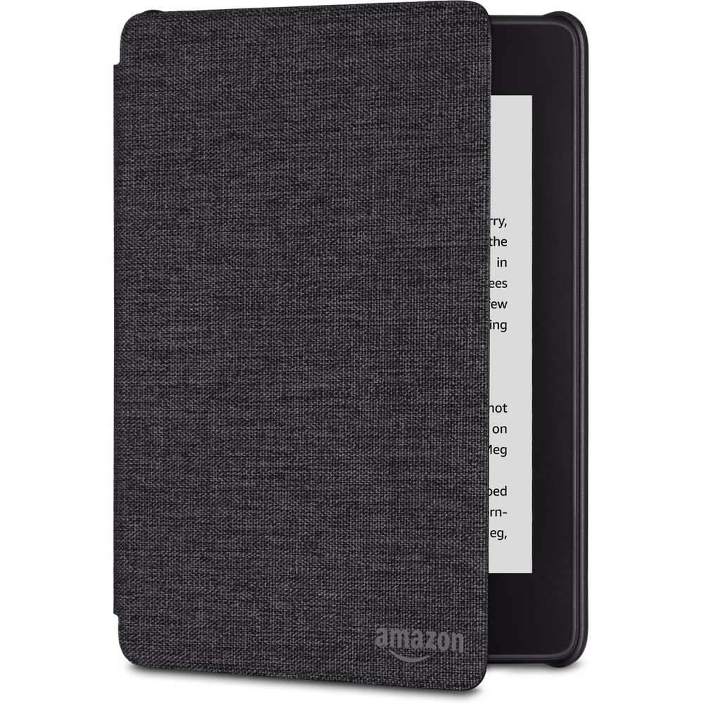 Kindle Paperwhite Water-Safe Fabric Cover - Charcoal Black Kindle Paperwhite Water-Safe Fabric Cover - Charcoal Black