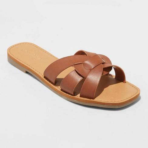 Women's Kyra Woven Slide Sandals - Universal Thread™ - image 1 of 3
