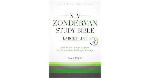 NIV Zondervan Study Bible : New International Version (Large Print) (Hardcover) - image 1 of 1