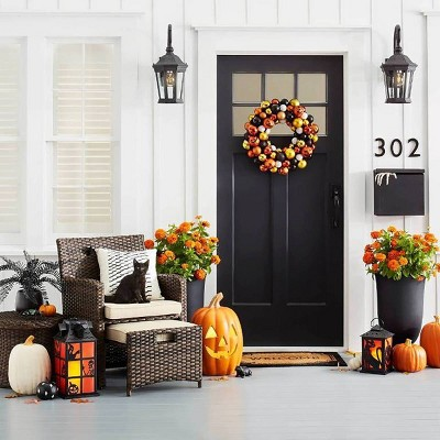 Halloween Themed Fall Front Porch Collection