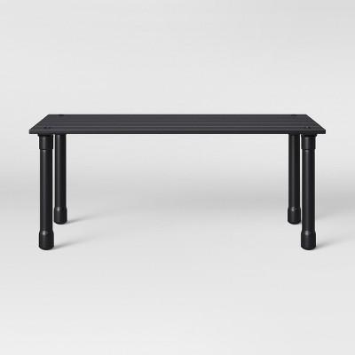 Fernhill Patio Coffee Table Black - Threshold™