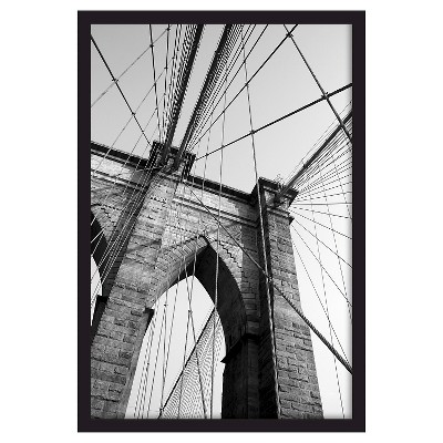 "20""x30"" Gallery Frame Black - Room Essentials™"