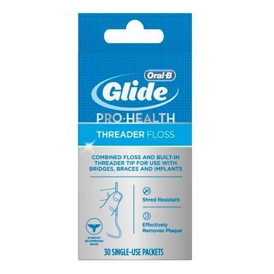 Oral-B Glide Pro-Health Threader Floss - 30ct