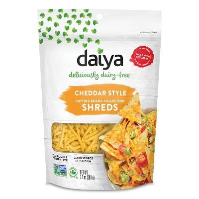 Daiya Dairy-Free Shredded Cheddar Cheese - 7.1oz
